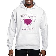 World's Greatest Homeschooler (Heart) Hoodie