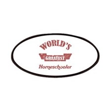 World's Greatest Homeschooler (For Dads) Patches