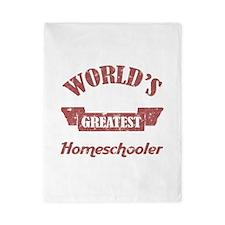 World's Greatest Homeschooler (For Dads) Twin Duve