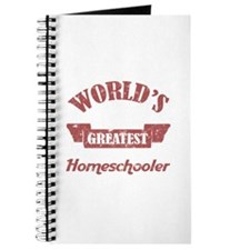 World's Greatest Homeschooler (For Dads) Journal