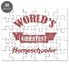 World's Greatest Homeschooler (For Dads) Puzzle