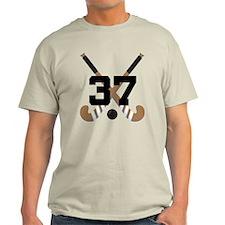 Field Hockey Number 37 T-Shirt