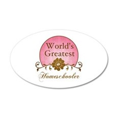 World's Greatest Homeschooler (For Moms) Wall Decal