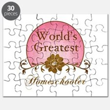 World's Greatest Homeschooler (For Moms) Puzzle