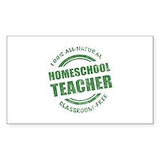 Homeschool Teacher Humor Decal