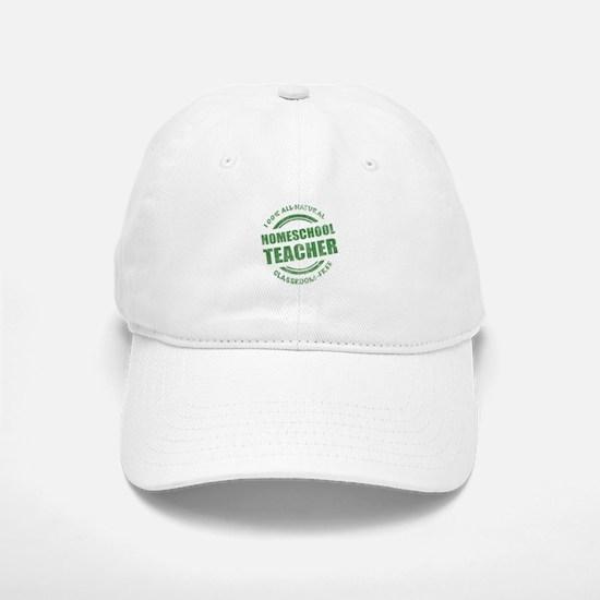 Homeschool Teacher Humor Baseball Baseball Cap