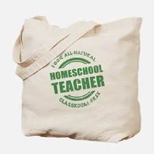 Homeschool Teacher Humor Tote Bag
