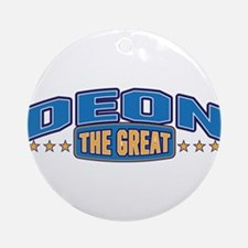 The Great Deon Ornament (Round)
