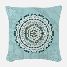 Lotus Weave Woven Throw Pillow