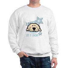 Let it Snow Golden Sweatshirt