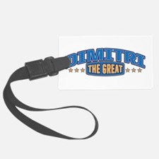 The Great Dimitri Luggage Tag