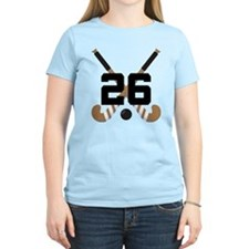 Field Hockey Number 26 T-Shirt