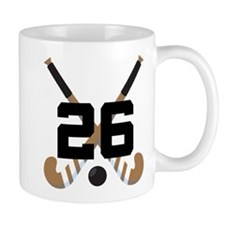 Field Hockey Number 26 Mug