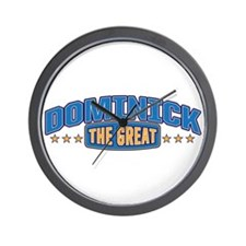 The Great Dominick Wall Clock