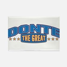 The Great Donte Rectangle Magnet