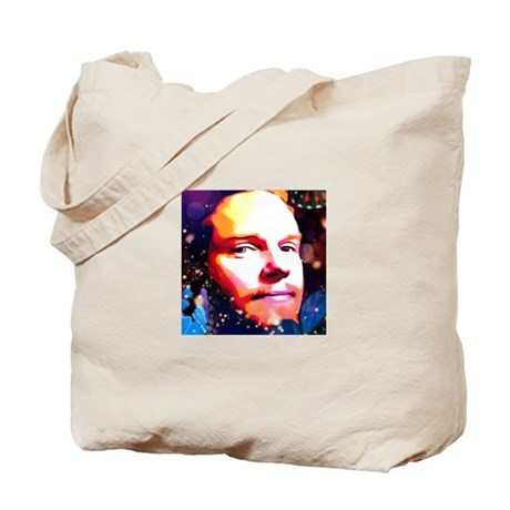 Psychedelic T face1 Tote Bag