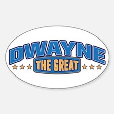 The Great Dwayne Decal