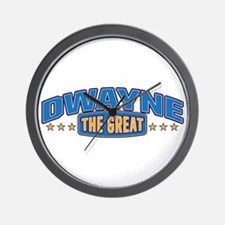 The Great Dwayne Wall Clock