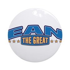 The Great Ean Ornament (Round)