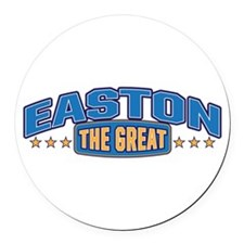 The Great Easton Round Car Magnet