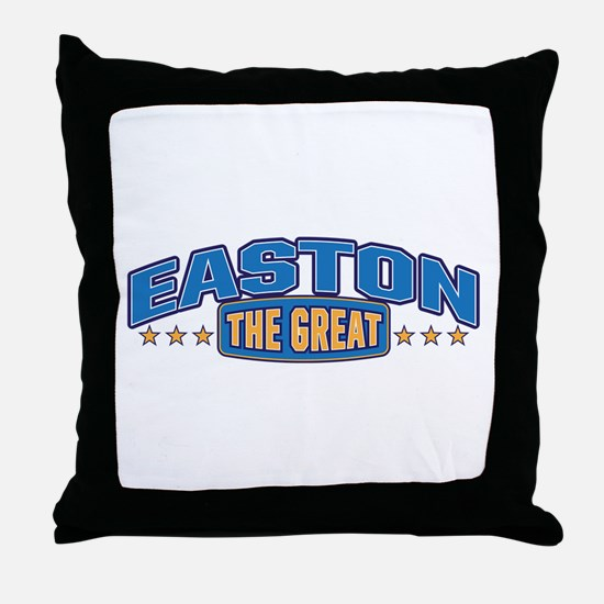 The Great Easton Throw Pillow