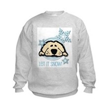 Let it Snow Golden Sweatshirt