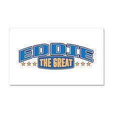 The Great Eddie Car Magnet 20 x 12
