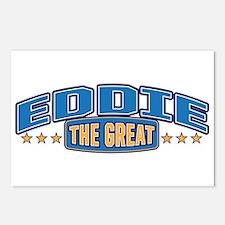 The Great Eddie Postcards (Package of 8)