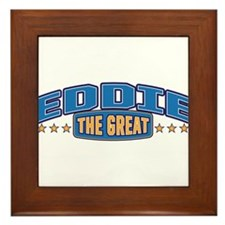 The Great Eddie Framed Tile