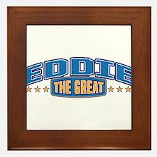The Great Eddie Framed Tile