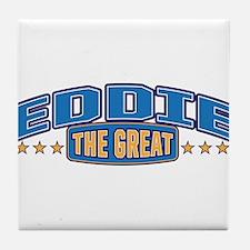 The Great Eddie Tile Coaster