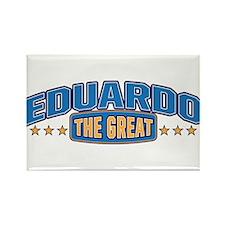 The Great Eduardo Rectangle Magnet