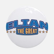 The Great Elian Ornament (Round)