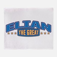 The Great Elian Throw Blanket