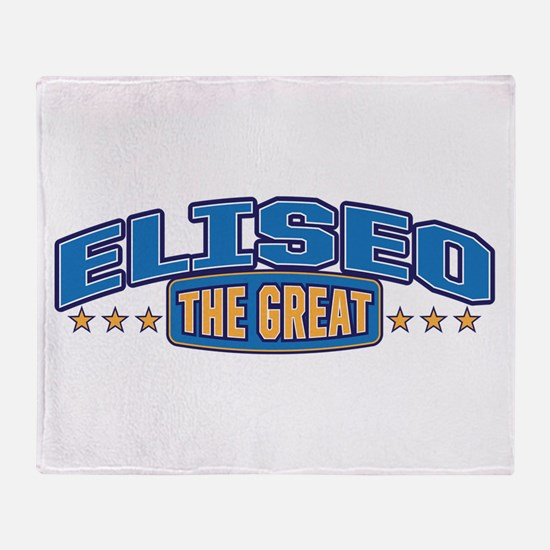 The Great Eliseo Throw Blanket