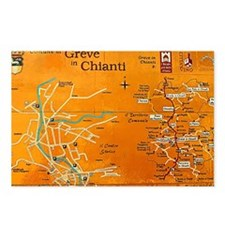 Grapes of Chianti Postcards (Package of 8)