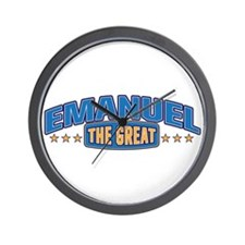 The Great Emanuel Wall Clock