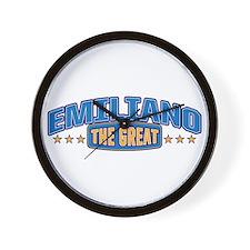 The Great Emiliano Wall Clock