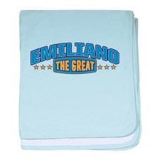 The Great Emiliano baby blanket