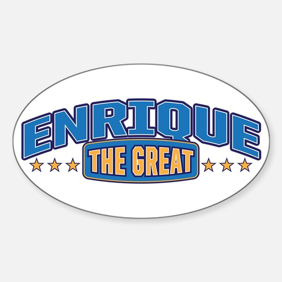 The Great Enrique Decal