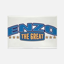 The Great Enzo Rectangle Magnet