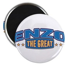 """The Great Enzo 2.25"""" Magnet (100 pack)"""