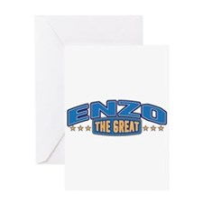 The Great Enzo Greeting Card