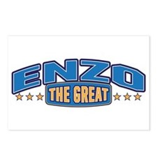 The Great Enzo Postcards (Package of 8)