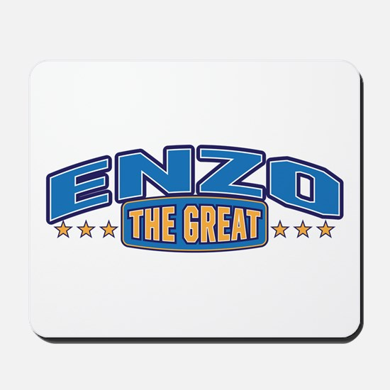 The Great Enzo Mousepad