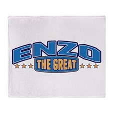 The Great Enzo Throw Blanket