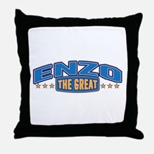The Great Enzo Throw Pillow