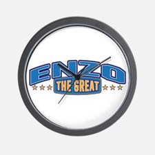 The Great Enzo Wall Clock