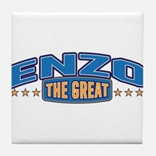 The Great Enzo Tile Coaster