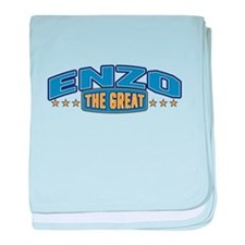 The Great Enzo baby blanket